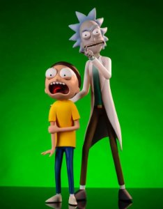 Rick and Morty Figure Two-Pack - Mondo