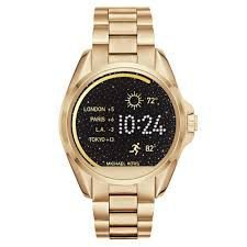 Relógio Michael Kors Acces Touch Digital Gold