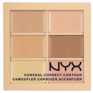 Corretivo Paleta Conceal Correct Contour NYX