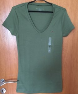Blusas Camisetas femininas Tommy Hilfiger