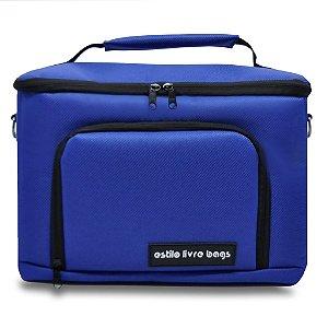 Bolsa Termica Azul Royal Média