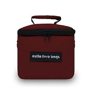 Bolsa Térmica Bordô Mini