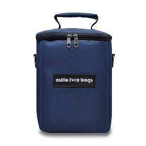 Bolsa Térmica Azul Marinho Pequena