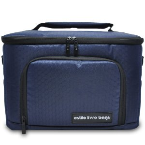 Bolsa Térmica Bee Azul Marinho Média