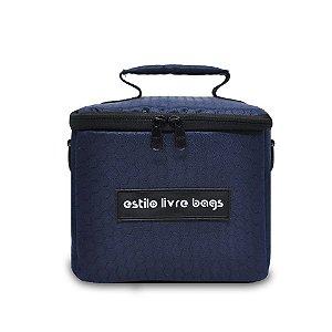 Bolsa Térmica Bee Azul Marinho Mini
