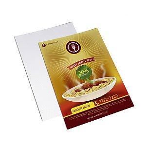 Flyer Panfleto - Formato 20x30 cm - Papel Couche 115gr - 4x0 Cores