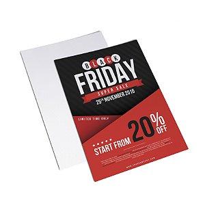 Flyer Panfleto - Formato 10x15 cm - Papel Couche 150gr - 4x0 Cores