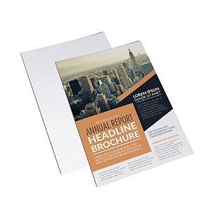 Flyer Panfleto - Formato 20x15 cm - Papel Couche 150gr - 4x0 Cores