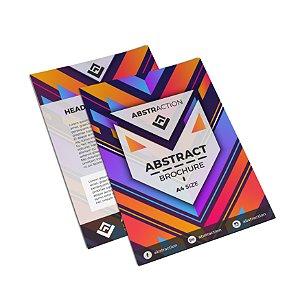 Flyer Panfleto - Formato 20x15 cm - Papel Couche 150gr - 4x4 Cores