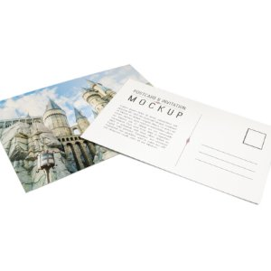 Cartão Postal - Formato 10x15 cm - Papel Couche 300gr - 4x4 Cores - Laminado Fosco