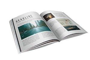 Revista Catálogo - Papel Couche 115gr