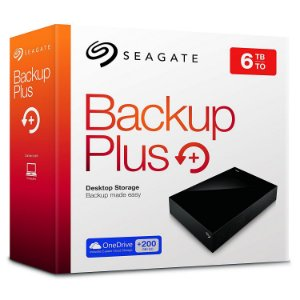 Hd Externo Seagate Backup Plus 3.5 6tb Usb 3.0