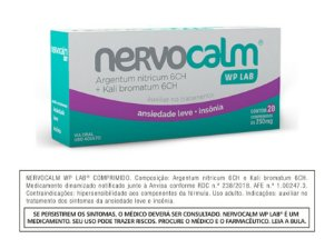 Nervocalm WP LAB® - 20 Comprimidos