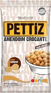 AMENDOIM DORI PETTIZ 500GR NATURAL