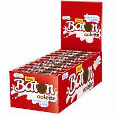 CHOCOLATE GAROTO BATON COM 30 UNIDADE