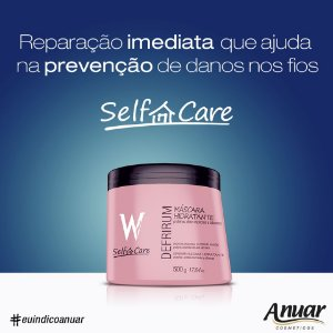 DEFRIRUM MASC. HIDRAT. MANUT W SELF CARE 500G
