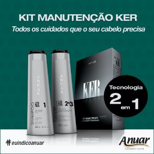 KIT MANUTENCAO KER 600ML