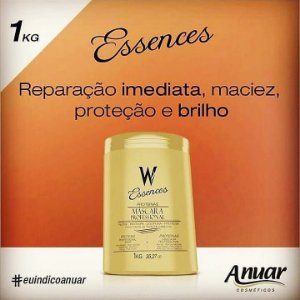MASCARA PROF. PROTEINAS W ESSENCES 1000G