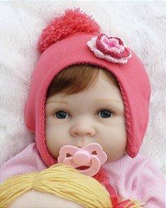 Bebê Reborn Resembling Cecília - réplica perfeita do molde holandes  Yfke  (edição limitada)