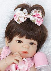 Bebê Reborn Resembling Larissa 48cm