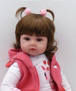 Bebê Reborn Resembling Ayla – 48cm