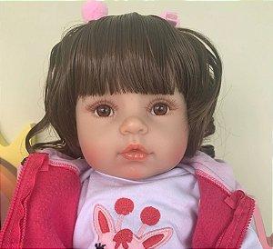 Bebê Reborn Resembling Ayla – inteira em silicone