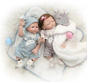 Bebê Reborn Resembling Gêmeos – Guilherme e Antonella