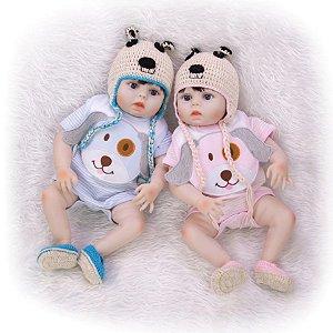 Bebê Reborn Resembling Gêmeos – Noah e Niely