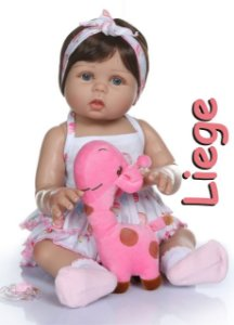 Bebê Reborn Resembling Liege
