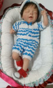 Mini Bebê Reborn Kit Salia