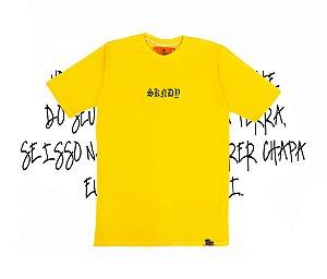 Camiseta SKNDY RESPECT ALL YELLOW