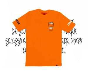 Camiseta SKNDY DRINK CUP APEROL ORANGE