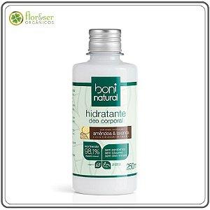 Hidratante corporal Natural Amêndoa e Lavanda Boni 250ml