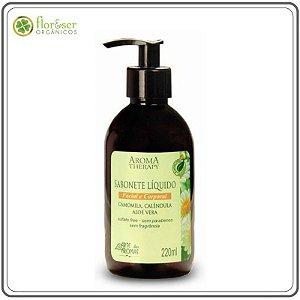 Sabonete Líquido Natural Camomila e Calêndula Arte dos Aromas 220ml