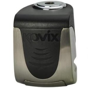 Trava de Disco com Alarme Kovix Mini KS6 - Cromada