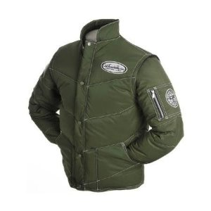 Jaqueta de Frio em Nylon - Refletiva Verde Califórnia