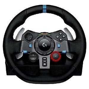 VOLANTE PARA GAME G29 - COMPATIVEL PLAYSTATION 3/4 E PC - LOGITECH