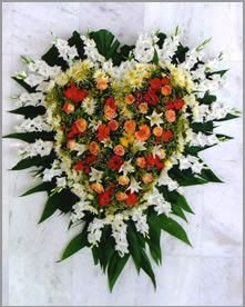Coroa de flores média 04