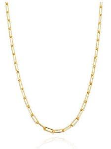 Calar Longo Elos Inspired Cartier - Folheado Ouro
