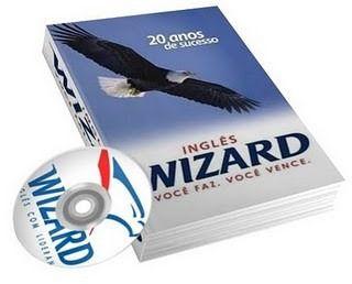 Curso De Inglês Wizard Completo - Apostilas e CDs