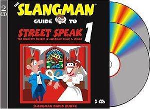 Curso The Slangman Guide to Street Speak 1 - Apostila com 2 CDs