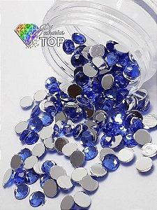 Chaton azul safira 4mm - 30 unidades
