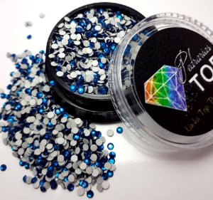 Cristal strass azul 1.8mm - Aprox. 500 unidades
