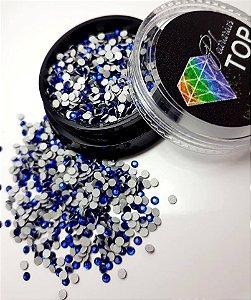 Cristal strass azul bic 1.8mm - Aprox. 500 unidades