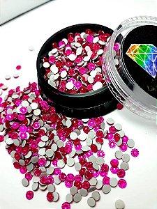 Margarida rosa pink 3mm - 150 unidades