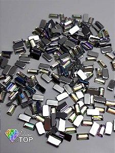 Retângulo furta cor 1,5 x  3 mm - Aprox. 100 unidades