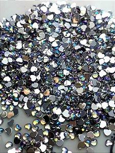 Micro coração furta cor 2,5mm - 100 unidades