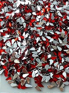 Micro gota vermelha 2x3 - 100 unidades