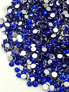 Pedra da lua azul bic 3mm - 100 unidades