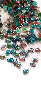 Gota luxo mix c/ glittler 4x6 - 50 unidades